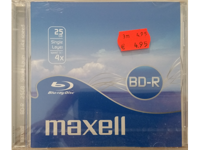 Maxell BD-R Disk 25 GB