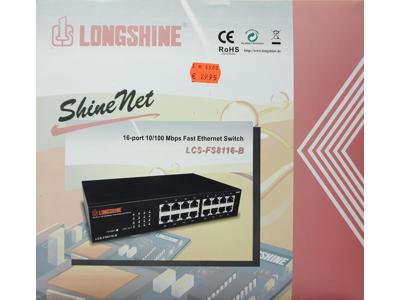 Longshine 16Port Ethernet Switch / 10/100 Mbps