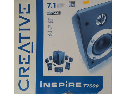 Creative Labs - 7.1 PC-Sourroundlautsprecher Inspire T7900