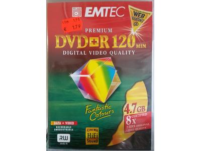 EMTEC DVD 4,7 GB / +R / -R