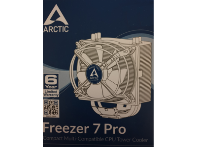 Arctic Freezer 7 Pro CPU Lüfter für CPUs bis 150W / 0,5 Sone / 900-2200 Upm / Für aktuelle INTEL und AMD Sockel