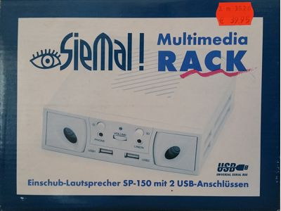 Multimedia-Rack Einschub Lautsprecher